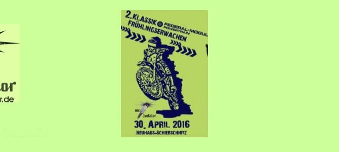 Einladung zum Federal-Mogul Klassik Frühlingserwachen 2016 – Nennungsformular online !!!