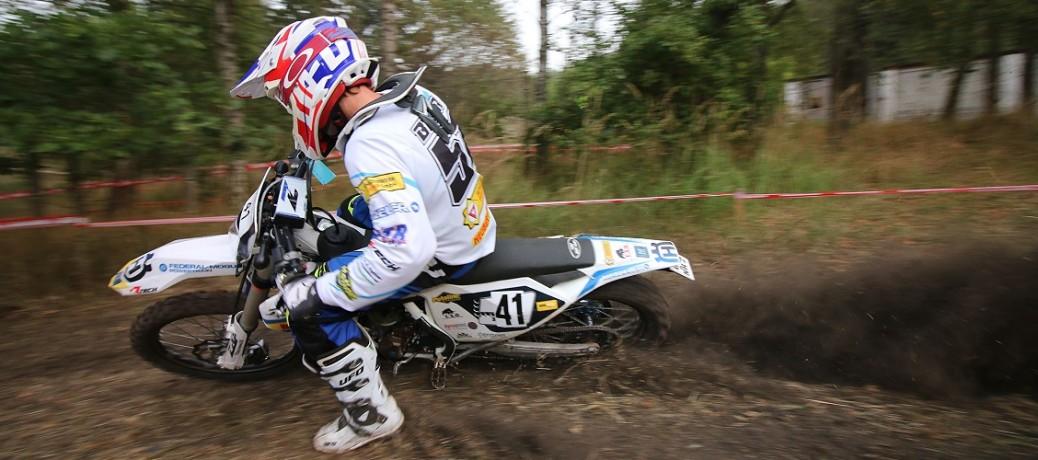 Andreas Beier gewinnt das Federal Mogul East Enduro Challenge Revival 2016